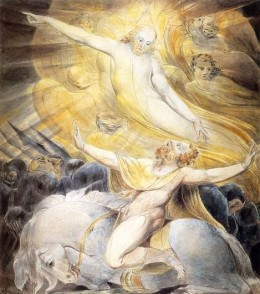"William Blake, ""The Conversion of Saul"""