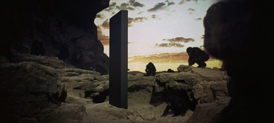 The 'black monolith' from Kubrick's 2001