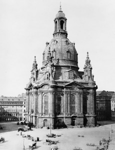 The Frauenkirche, Dresden, before February 14, 1945
