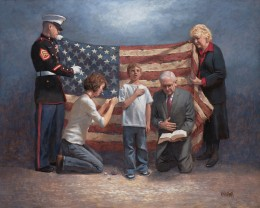 "Jon McNaughton, ""Mending the Nation"""