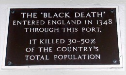 the-black-death plaque