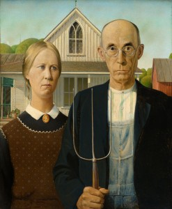 American Gothic, by Grant Wood