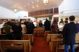 Inside a Christian Science church
