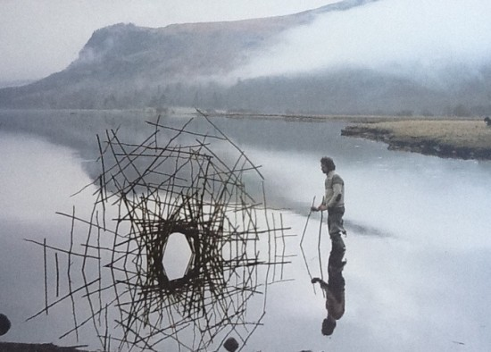 Andy Goldsworthy, Early Morning Calm, 1988