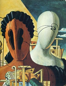"Giorgio de Chirico, ""Les Masques"""