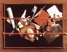 Samuel van Hoogstraten, Still Life, 1668
