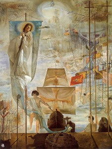 Salvador Dalí, The Discovery of America by Christopher Columbus, 1959