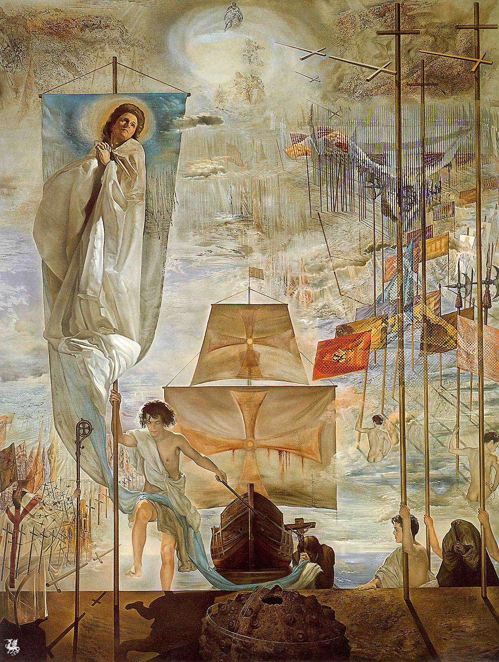 francisco albanese clash of civilizations and the grey salvador daliacute the discovery of america by christopher columbus 1959