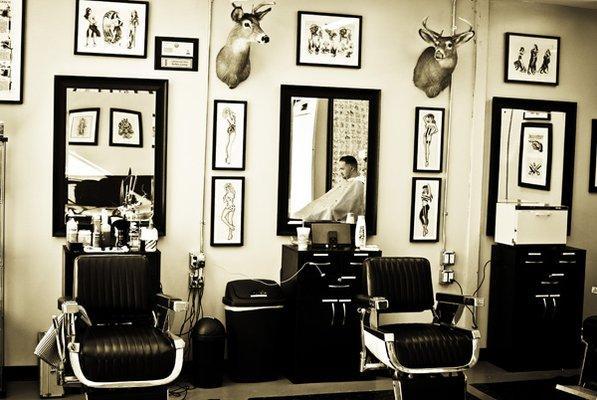Barber Shop 1950 #2