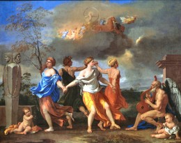 Nicolas Poussin, A Dance to the Music of Time (Dance of Human Life),  1639