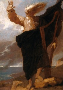 Benjamin West, The Bard, 1778
