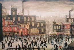 "L. S. Lowry, ""Our Town,"" 1943"