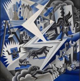 Fortunato Depero, Lightning Composer, 1926