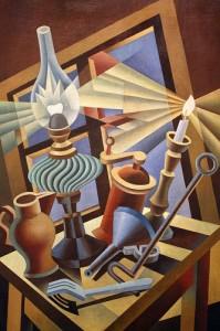 Depero-Lamp-Candle-Still-Life