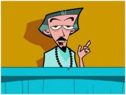 Alan Watts-cartoon animation