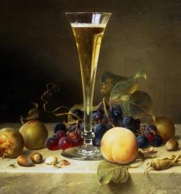 still-life-with-a-glass-of-champagne-johann-wilhelm-preyer