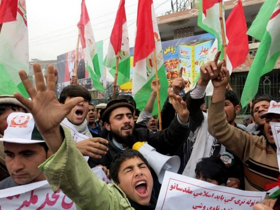Anti-French protest in Afghanistan