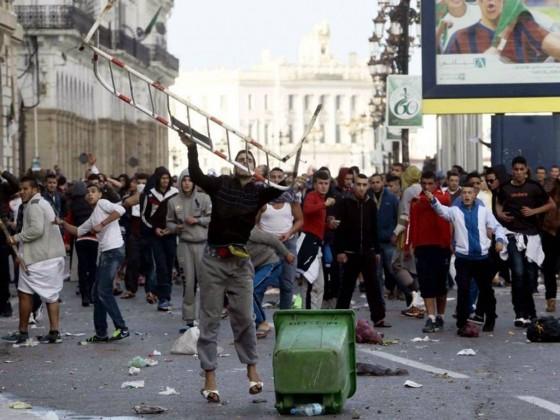 Anti-French protest in Algeria