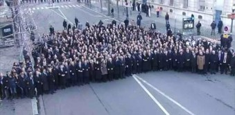 Behind the Scenes of the Charlie Hebdo Unity March