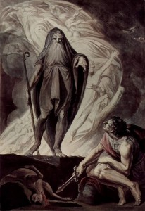 Henry Fuseli, Teiresias Foretells the Future to Odysseus, 1780-1785