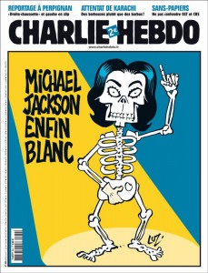 Michael Jackson, white at last!