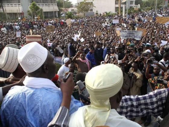 Anti-French protest in Mali