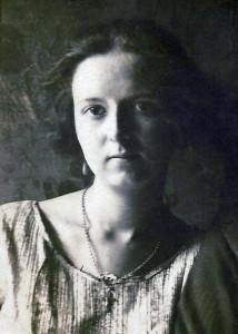 Savitri Devi in 1925