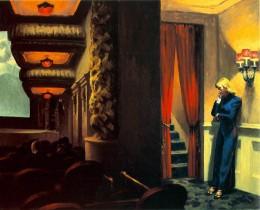 Edward Hopper, New York Theater,