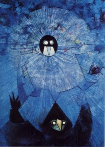 The Dark Gods by Max Ernst, 1957