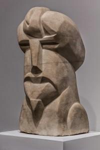 Hieratic Head of Ezra Pound by Henri Gaudier-Brzeska