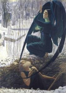 Carlos Schwabe, Death of the Gravedigger