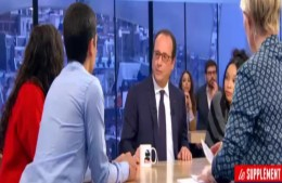 The President of France trounced in televised debate with three Arab teenagers