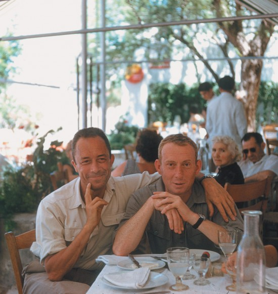 Camus and Michel Gallimard from 1958