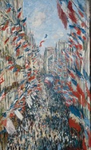 Claude Monet, The Rue Montorgueil, Paris, 1878