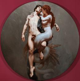 Roberto Ferri, Salmacis and Hermaphrodite
