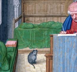 book of hours, Bruges ca. 1510-1525 (Rouen, bibliothèque municipale, ms. 3028, fol. 63r)