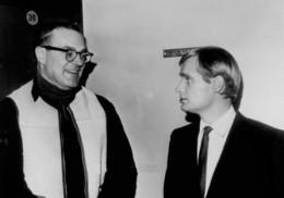 Sam Rolfe with David McCallum