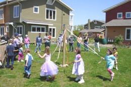 Modern cohousing began in Denmark in the 1960s.