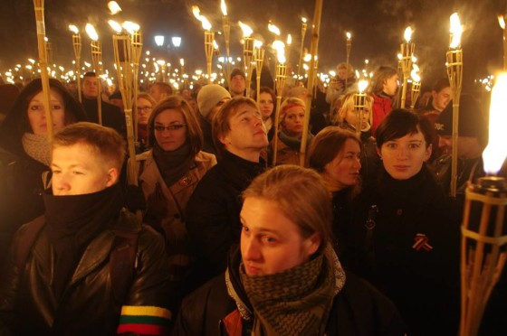 Carrying the torch of nationalism in Lithuania