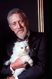 Max von Sydow holds the cat in Kevin McClory's Never Say Never Again 1983