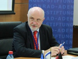 Michael Mertes, German representative for Israel at the Konrad Adenauer Foundation.