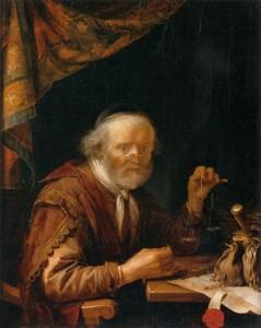 Gerrit Dou, The Moneylender, 1664