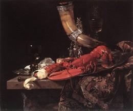 Wilem Kalf, Still Life with Drinking Horn, 1653