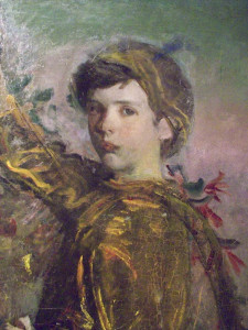 Abbott Handerson Thayer, My Children, detail