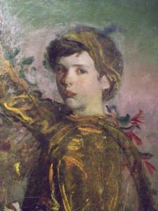 Abbott Handerson Thayer, My Children, detail