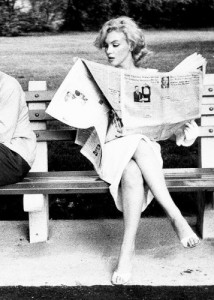 WomanWithNewspaper