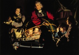 Joseph Wright of Derby, A Philosopher Lecturing on the Orrery, circa 1766