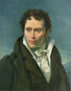 Young Arthur Schopenhauer