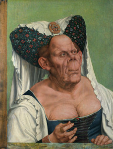 Quentin Matsys, A Grotesque Old Woman, circa. 1515