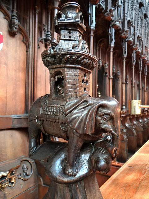 Figure14: Ripon Cathedral Elephant
